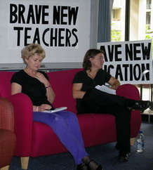Professor Sue Grieshaber and ZSuzsa Millei